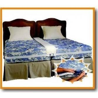 make any two twin beds into a comfortable king siz album photo alex jones. Black Bedroom Furniture Sets. Home Design Ideas